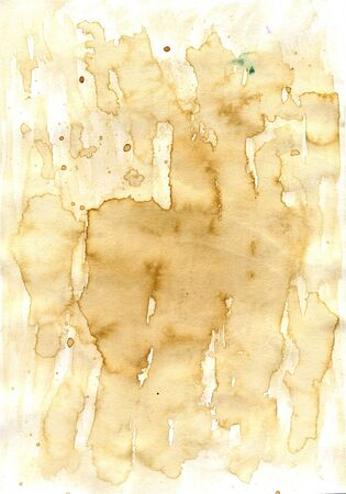 water chestnut: Grunge texture of dirty paper with coffee stains, highly detailed background.