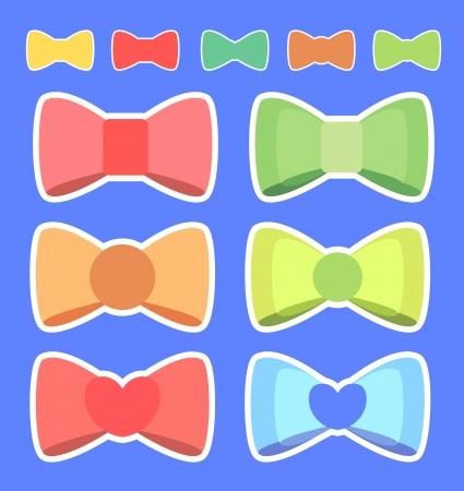 hairpin: Cute ribbon color Illustration