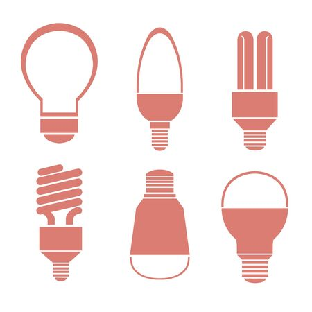 Bulbs, many shapes  The six bulbs