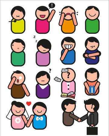 expression visage: Les �motions et les expressions du visage et le geste, et la communication.