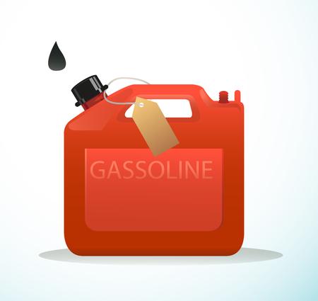 gal�n: Una imagen de gal�n de aceite usado que hace del pl�stico.