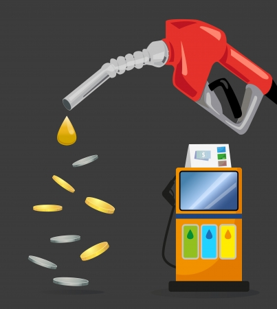 pay for: Payments and fuel costs  Pay for energy  Illustration