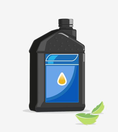 gal�n: Una botella de pl�stico o peque�o gal�n para contener el aceite