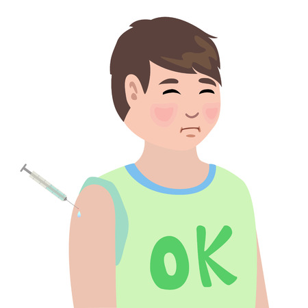 medicate: The boys were treated by injection The patient was treated Illustration