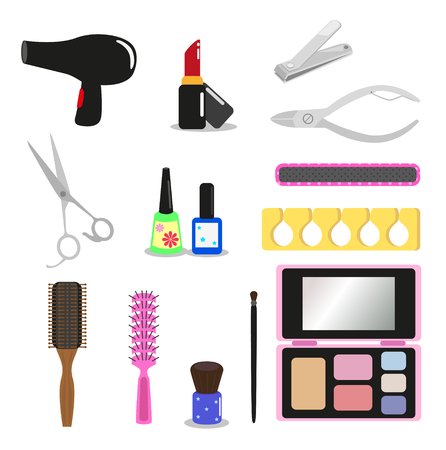 cuticle: Equipment used in beauty salon hair, nail and makeup