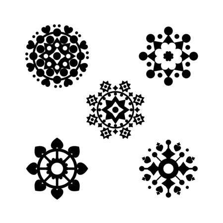 Vector illustration of element graphic on white background
