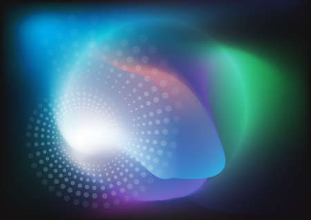 abstract background circle shape and lighting. Stock fotó