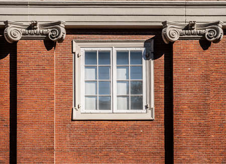 Traditional dutch window at the Amsterdams Historisch