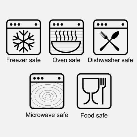 Properties of food contact materials in order to ensure the food safety