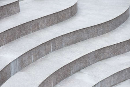 Abstract stairs made of stone, construction detail Stock fotó - 135011021