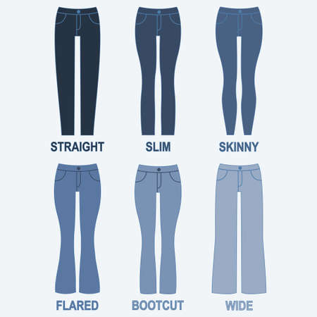 Different types of trousers and their names