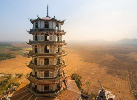 Chinese temples pagoda at Thailand