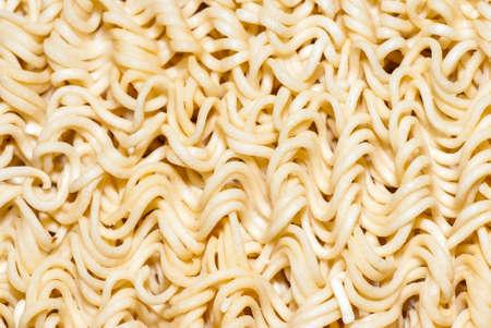 Instant noodles  Texture  Close up
