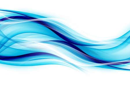Website business concept. Awesome smooth clue soft waves background. Banco de Imagens