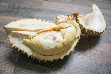 durian monthong , king of fruit of Thailand.selective focus
