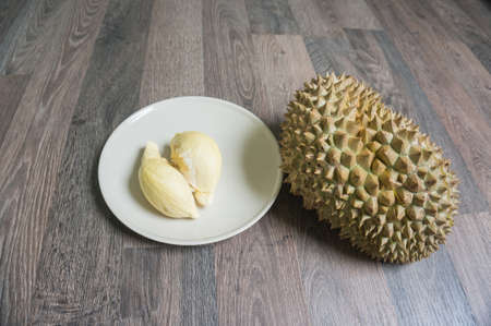durian monthong , king of fruit of Thailand.