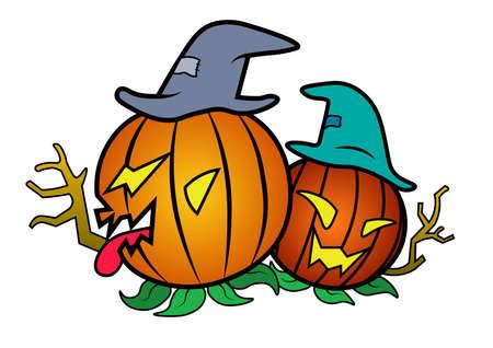 fury pumpkin halloween
