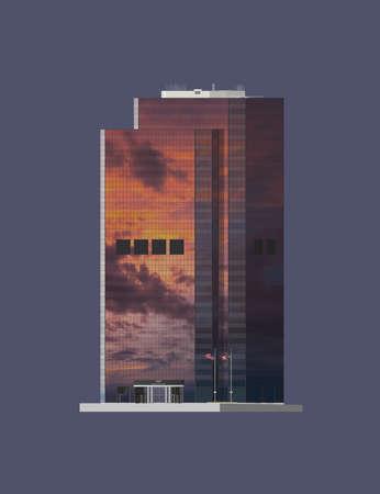 1111 Superior Avenue, Cleveland Banco de Imagens