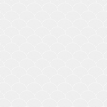 extra sensory perception: Vector template background consisting of gray spirals.