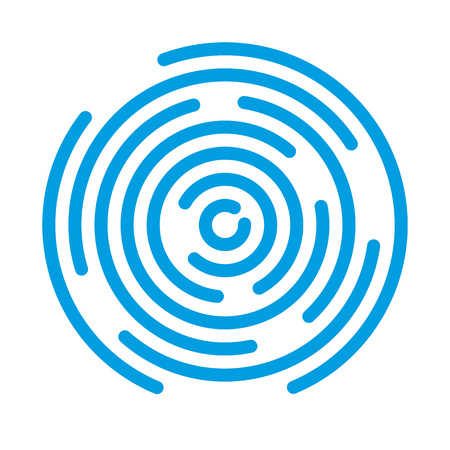 revolving: Abstract vortex. Circular drop background. Vector illustration for design your website and print. Illustration