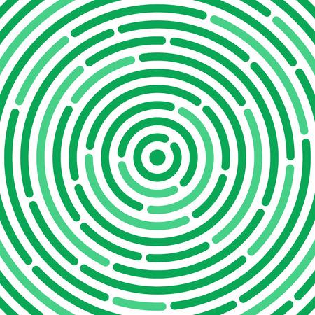 cíclico: Ripple patrón circular. resumen vórtice. Concepto de ronda laberinto o el laberinto. Fondo de la gota circular. Ilustración del vector para el diseño de su sitio web y de impresión.