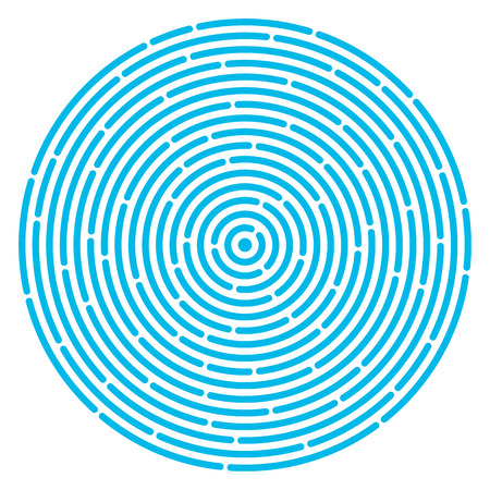 revolving: Ripple circular pattern. Abstract vortex. Concept of round maze or labyrinth. Circular drop background. Vector illustration for design your website and print.