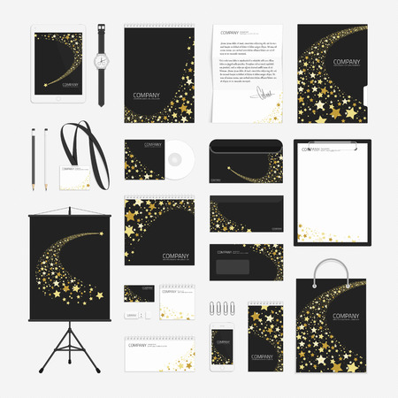 Corporate Identity Template Big Set. Documentation For Business ...
