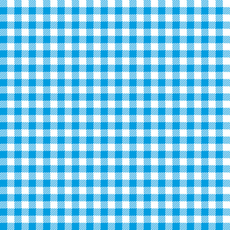 manteles: Blue checkered tablecloths patterns. Vectores