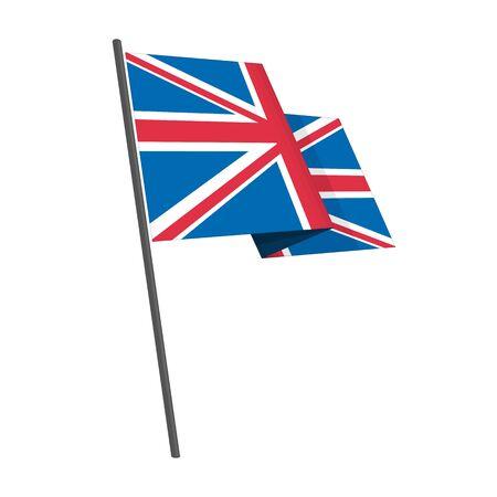 British flag vector.