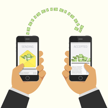 sending: Sending and receiving money.