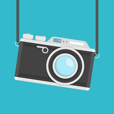 retro: Retro camera vector.
