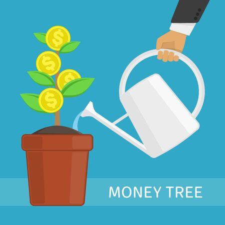 money: Money tree concept.