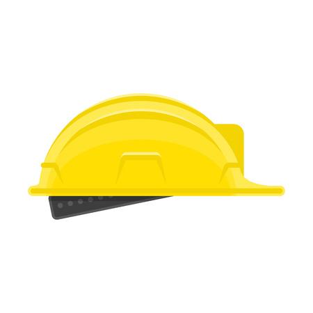 Construction helmet icon. Illustration