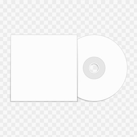 CD mockup template.