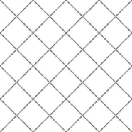 Seamless rope pattern.