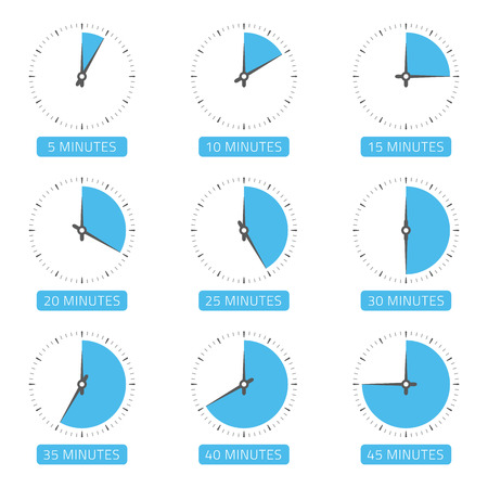 Clock face with different time.