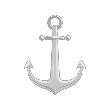 Vector ship anchor.