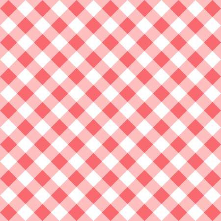 Red gingham seamless pattern. Illustration