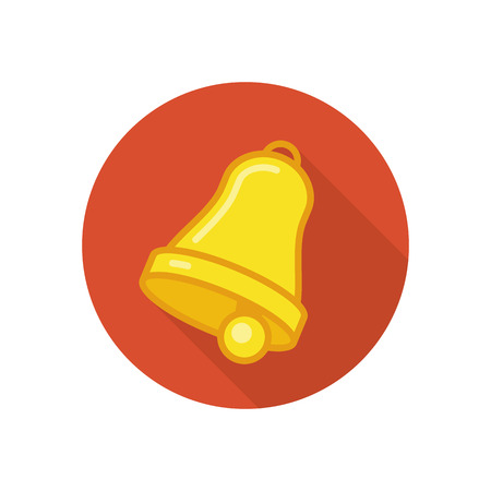 Bell vector icon.