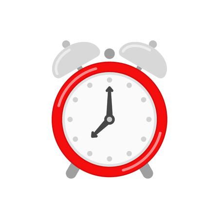 Alarm clock icon. Illustration