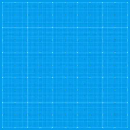 Brede blauwdruk achtergrond. Vectorillustratie EPS 10