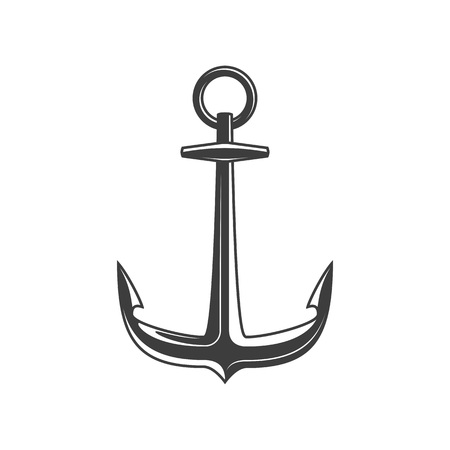 Anchor vector icon.