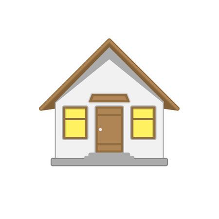 House vector icon.