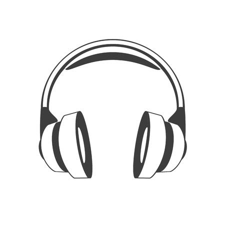 Headphones vector icon.