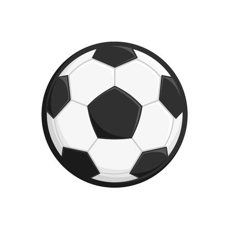 Soccer or Football ball icon. Vector illustration