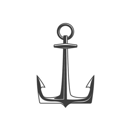 Anchor icon vector, vector illustration. Ilustrace