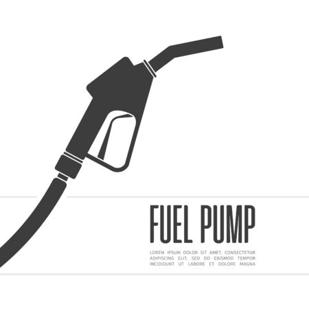 Fuel pump icon, vector illustration.
