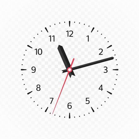Clock face mockup.