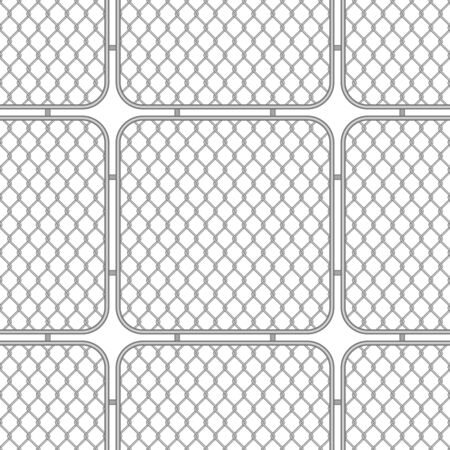 Metal fences wire mesh.