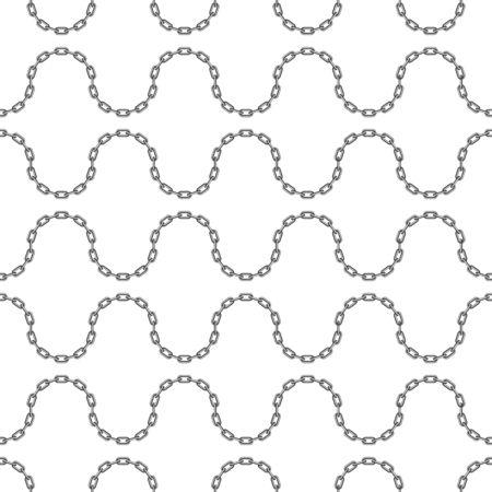 Black chain pattern.